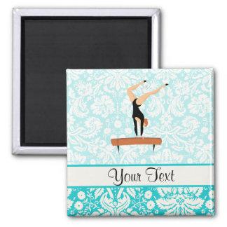 Gymnastics Balance Beam Magnet