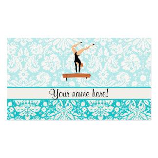 Gymnastics Balance Beam Pack Of Standard Business Cards