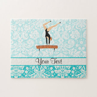 Gymnastics Balance Beam Puzzle