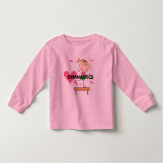 GYMNASTICS - Blond Girl Balance Beam Tshirts