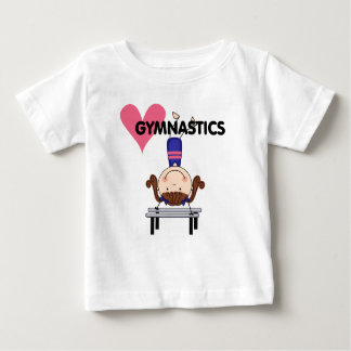 GYMNASTICS - Brunette Girl Handstands Baby T-Shirt