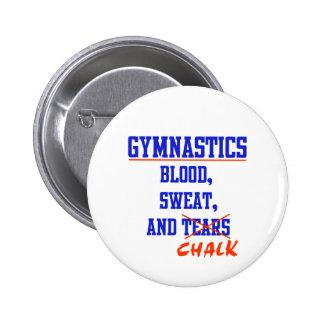 Gymnastics BS&C 6 Cm Round Badge