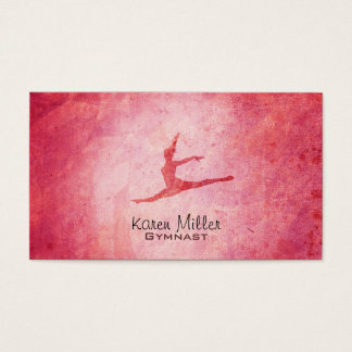 Gymnastics Business Cards