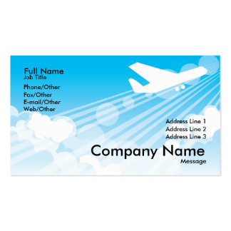 Gymnastics  Card Business Card Template