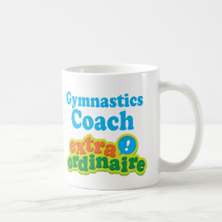 Gymnastics Coach Extraordinaire Gift Idea Coffee Mug