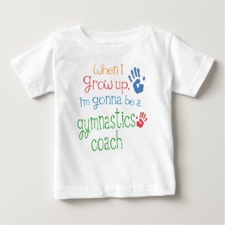 Gymnastics Coach (Future) Infant Baby T-Shirt