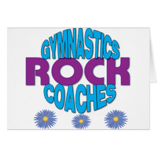 Gymnastics Coach Gift Card