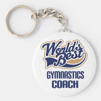 Gymnastics Coach Gift Key Ring