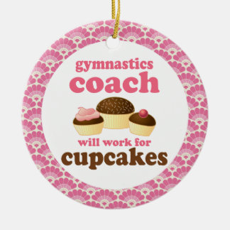 Gymnastics Coach Gift Ornament