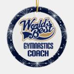 Gymnastics Coach Gift Ornament