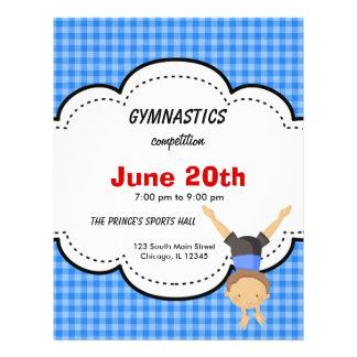 Gymnastics Competition Flyer