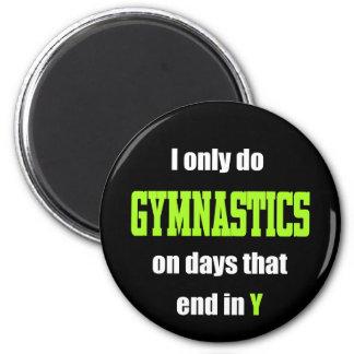 Gymnastics Days 6 Cm Round Magnet