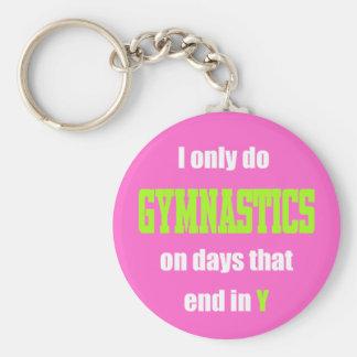 Gymnastics Days Key Chains