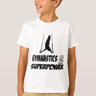 Gymnastics designs t shirts