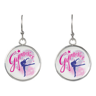 Gymnastics Earrings