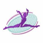 Gymnastics Embroidered Fleece Track Jacket