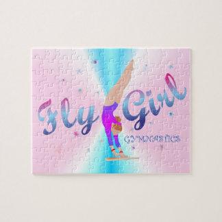Gymnastics - Fly Girl Puzzle