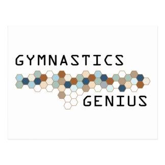 Gymnastics Genius Post Cards