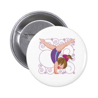 Gymnastics Gift Button