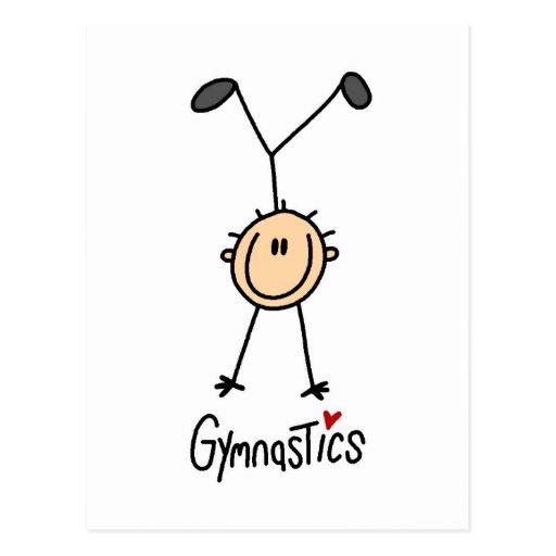 Gymnastics Gift Postcard