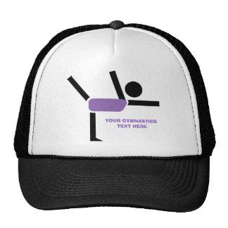 Gymnastics gifts gymnastics performer custom trucker hats