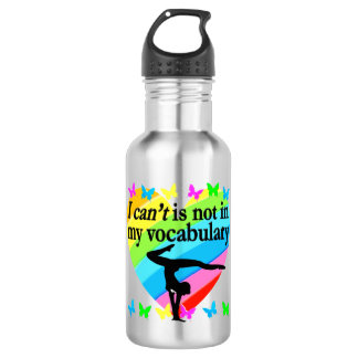 GYMNASTICS GIRL INSPIRATIONAL DESIGN 532 ML WATER BOTTLE