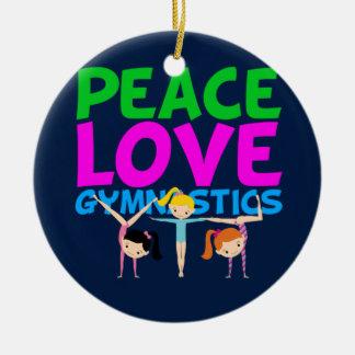 Gymnastics Girls Christmas Ornament