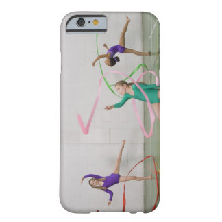 Gymnastics girls dancing with ribbons barely there iPhone 6 case