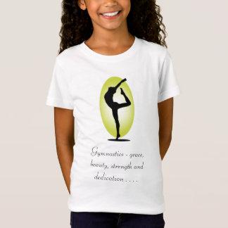 Gymnastics - grace, beauty, streng... - Customized T-Shirt