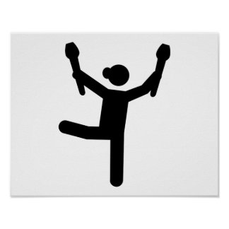 Gymnastics gymnast poster