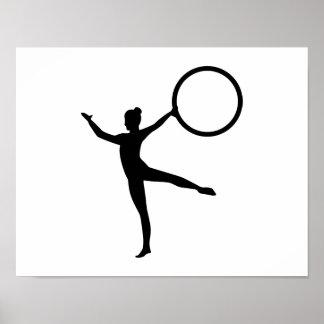 Gymnastics gymnast posters