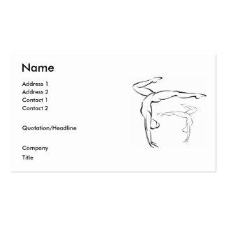 Gymnastics II Business Card