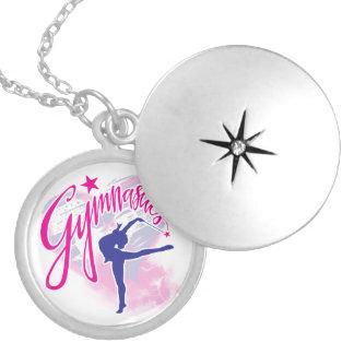 Gymnastics Locket Necklace
