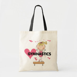GYMNASTICS - Love Gymnastics Tshirts and Gifts Budget Tote Bag