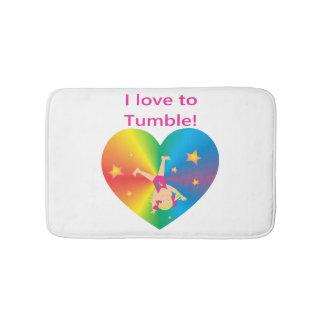 Gymnastics - Love to Tumble by Bella Bath Mat