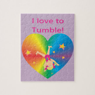 Gymnastics - Love to Tumble by Bella Jigsaw Puzzle