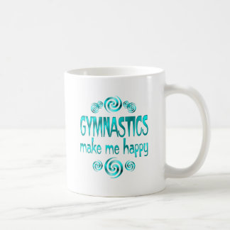 Gymnastics Make Me Happy Coffee Mug