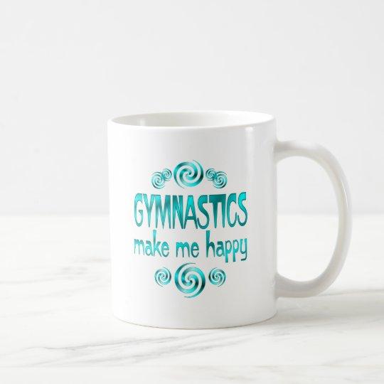 Gymnastics Make Me Happy Coffee Mug