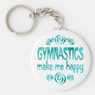 Gymnastics Make Me Happy Key Chains