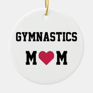 Gymnastics Mom Christmas Ornament