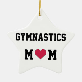 Gymnastics Mom Christmas Ornament