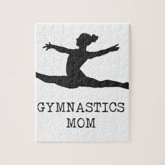 Gymnastics Mom Jigsaw Puzzle