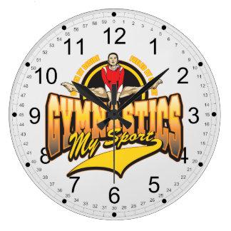 Gymnastics My Sport Clocks