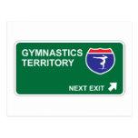 Gymnastics Next Exit Postcard