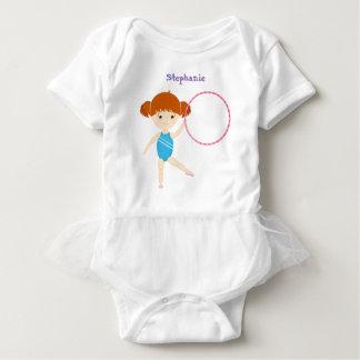 Gymnastics Party Baby Bodysuit