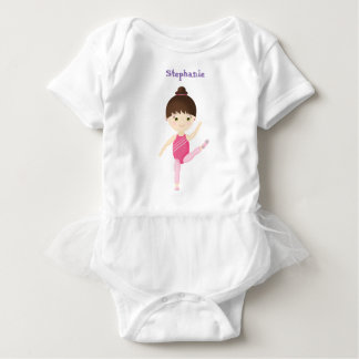 Gymnastics Party Baby Bodysuit