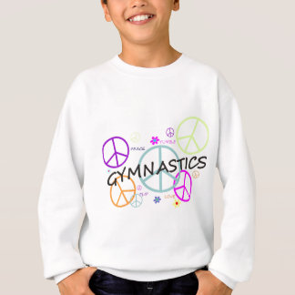 Gymnastics Peace Signs Sweatshirt