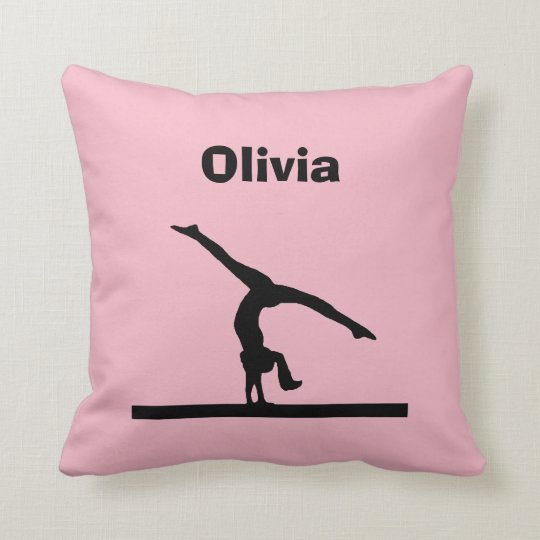 """Gymnastics"" Personalised Pillow"