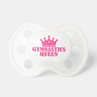 Gymnastics Queen Pacifier