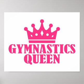 Gymnastics Queen Print